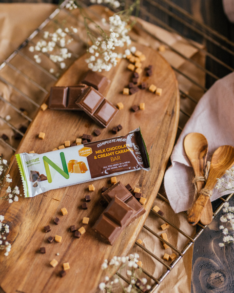 Milk Chocolate & Creamy Caramel