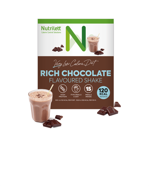 VLCD Rich Chocolate Shake - 15 pack