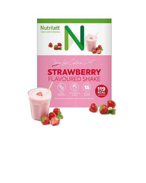 VLCD Strawberry Shake - 15 pack