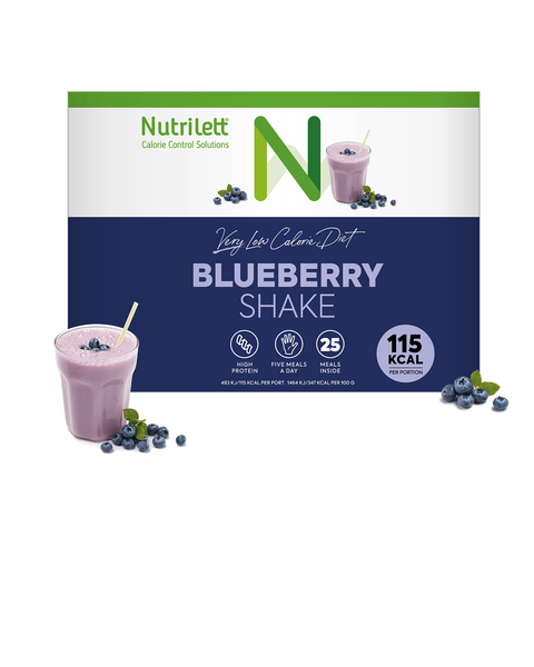 VLCD Blåbär Shake - 25 pack