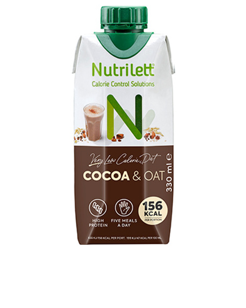 VLCD Cocoa & oat milkshake