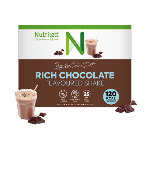 VLCD Choklad Shake - 25 pack