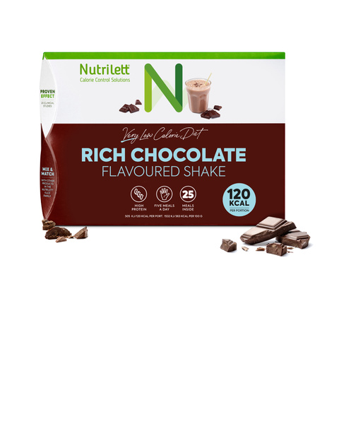 VLCD Rich Chocolate Shake - 25 pack